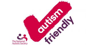 'The National Autistic Society's' Autism Friendly tick